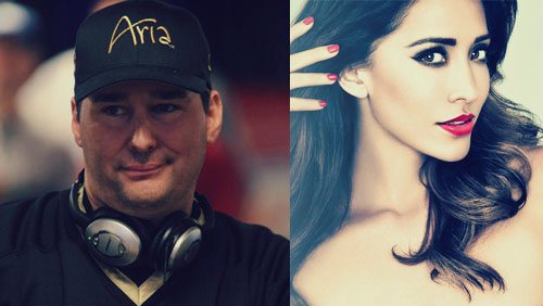 Carl's Jr. ad: Phil Hellmuth follows in the footsteps of Fernanda Romero