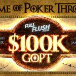 """Full Flush Poker Announce """"Game of Poker Thrones"""" Promotion"""