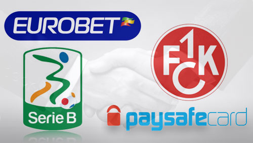 Italian Serie B could lose Eurobet as title sponsor; German side Kaiserslautern inks deal with paysafecard