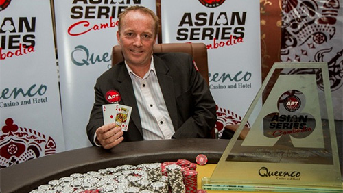 Michael Lindstrom Wins the APT Cambodia Main Event