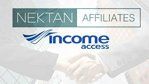 NEKTAN Launches Affiliate Programme with Income Access