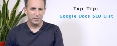 SEO Tip of the Week: Google Docs SEO List