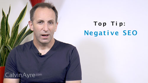 SEO Tip of the Week: Negative SEO