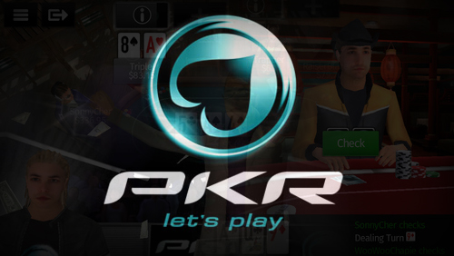 PKR Unveil New 3D Poker App; PKR Live Leaves the UK; Trogvar is the Latest Team PKR Pro and Elz442 to Wed.