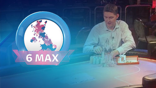Sky Poker UK 6-Max Poker Championship Main Event Winner Leigh Wiltshire