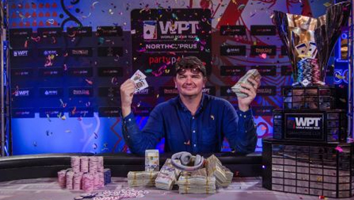 Alexander Lakhov Wins Back-to-Back WPT Merit Classic National & Main Event Titles in North Cyprus