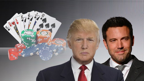 Ben Affleck talks about card counting scandal; Donald Trump laments state of Atlantic City