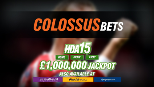 Colossus Bets Player On Verge Of Landing £1,000,000 HDA15 Football Jackpot
