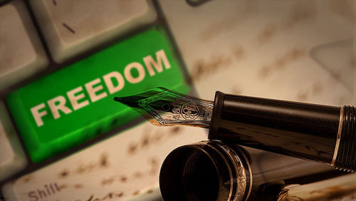 Confessions of a Poker Writer: Freedom of Expression
