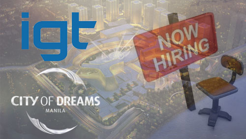 IGT inks deal with City of Dreams Manila; Tiger Resorts prepares for mass hiring of 8,000 employees