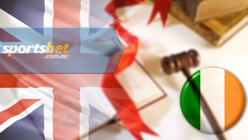 Ireland not part of new UK advertising restrictions; Sportsbet closes UK customer accounts