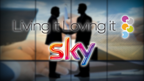 Living it Loving it Ink Deal With Sky