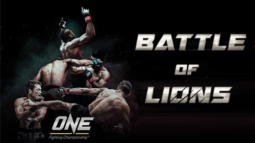 One FC: Battle of Lions to Feature Inaugural Middleweight World Championship Bout