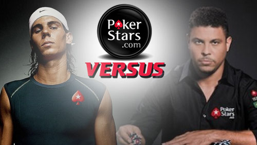 Ronaldo Nazario Challenges Rafa Nadal to a Duel on PokerStars