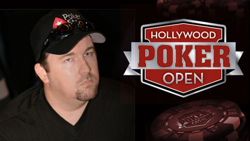 The Hollywood Poker Open Signs Chris Moneymaker