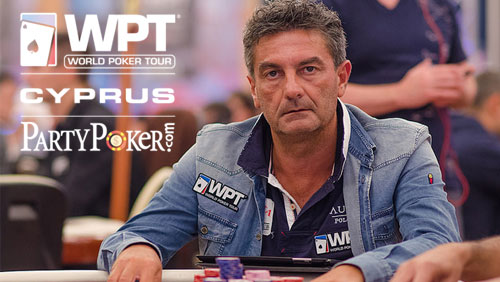WPT Cyprus: Antonio Buonanno Leads the Final 30