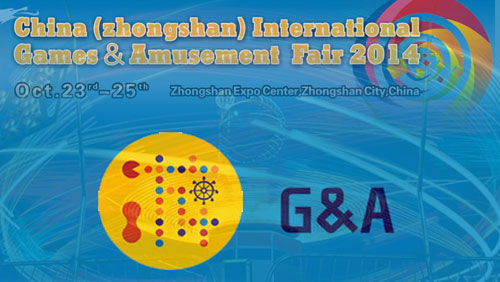 7th China (Zhongshan) International Games & Amusement Fair 2014 at Zhongshan Expo Center
