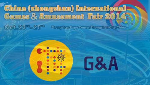 7th China (Zhongshan) International Games & Amusement Fair 2014 at Zhongshan Expo Center