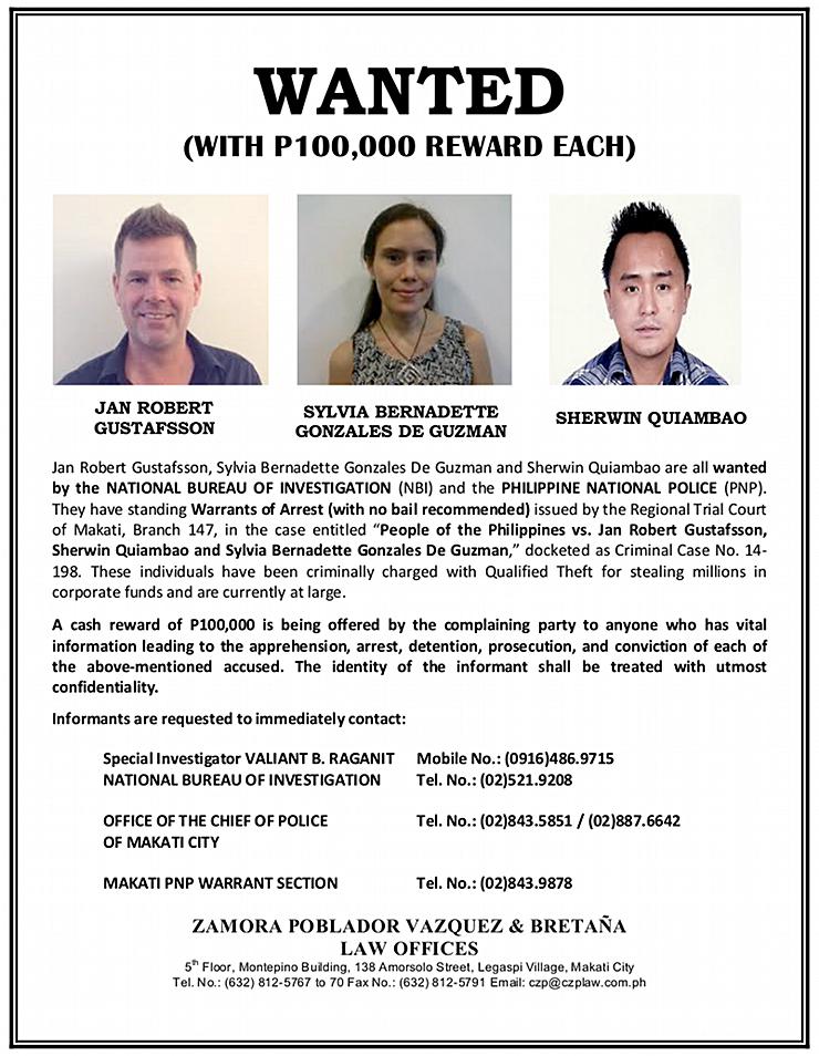 Robert-Gustaffson-arrest-reward-poster