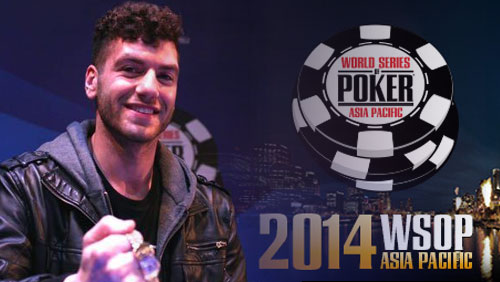 Alex Antonios Wins WSOP-APAC Event #7: AU$2,200 No-Limit Hold'em 6-Max; Doyle Brunson Gets Graphic
