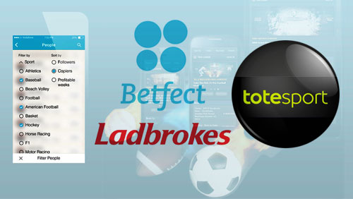 Betfect launches social betting network with Ladbrokes; Totesport's mobile offering launches sportsbook