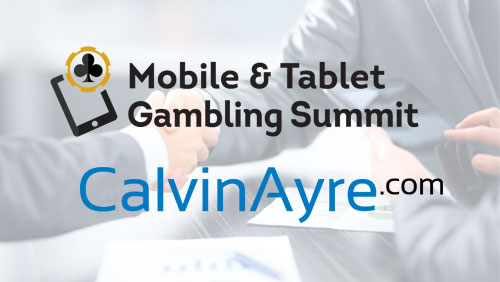 Calvinayre.com has signed up as a media partner for the Mobile & Tablet Gambling Summit 2014