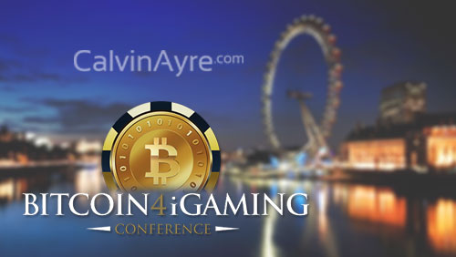 CalvinAyre.com as a media partner for Bitcoin4iGaming