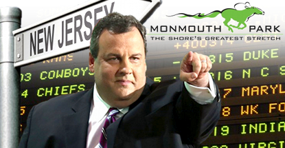 chris-christie-new-jersey-monmouth-park-sports-betting
