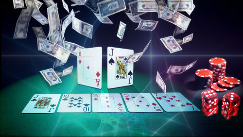 How to play poker without chips or money