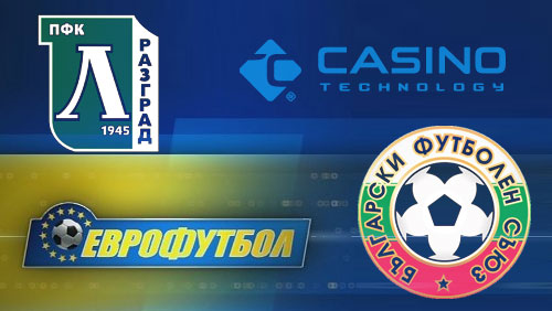 Eurofootball signs deal with Bulgarian national team; Casino Technology inks with Bulgaria club powerhouse Ludogorets