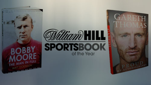 Gareth Thomas and Bobby Moore Headline William Hill Sports Book of the Year Shortlist