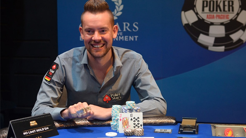 George Danzer Wins WSOP-APAC Event #8