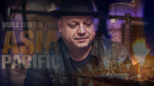 Jeff Lisandro Wins Bracelet No.6 in WSOP-APAC Event #3: $AU1,650 Pot-Limit Omaha