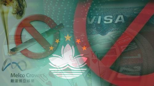 Macau's labor shortage; HK's visa restriction; Melco casino's smoking policy violation