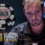 Luke Brabin Wins WSOP-APAC Event #1: AU$1,100 No-Limit Hold'em Accumulator