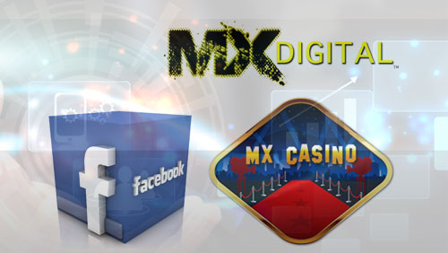 MX Digital Launches Social Casino App on Facebook as Company Eyes Multi-Billion Dollar Worldwide Sector with Social Casino Slot Games