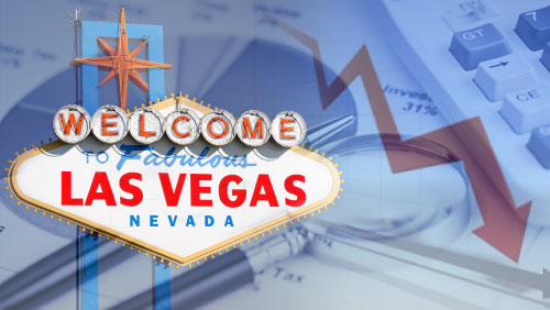 Vegas gambling revenue