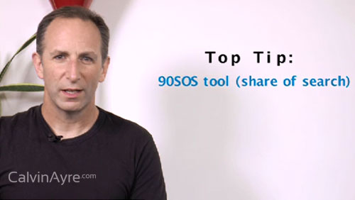 SEO Tip of the Week: 90SOS Tool (Share of search)