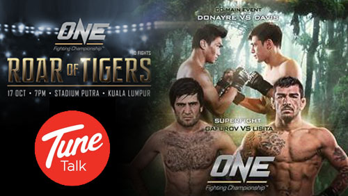 ONE FC: Roar of Tigers Fight Card Complete with Two Bouts Added