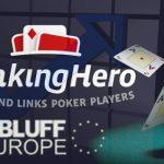 RankingHero to Power BLUFF European Poker Rankings