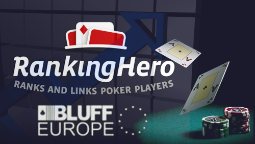 RankingHero to Power BLUFF European Poker Rankings