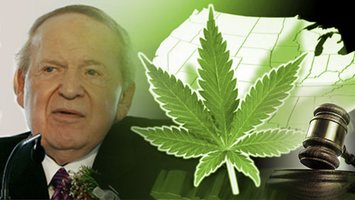 Red Wire: Sheldon Adelson's Finger Is On The Marijuana Scales In Florida