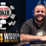 Sam Higgs Wins WSOP-APAC Event #5: AU$5,000 Pot Limit Omaha