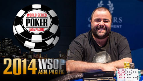 Sam Higgs Wins WSOP-APAC Event #5: AU$5,000 Pot Limit Omaha