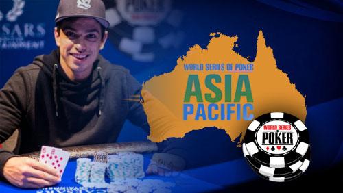 Scott Calcagno Wins WSOP-APAC Event #4: AU$1,650 No-Limit Hold'em Terminator