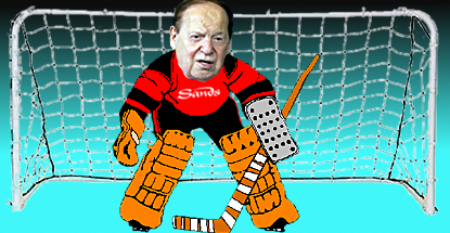 sheldon-adelson-hockey-goalie