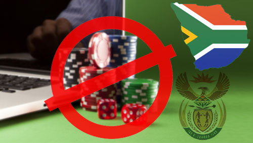 South Africa gov't office proposes ban on online gambling