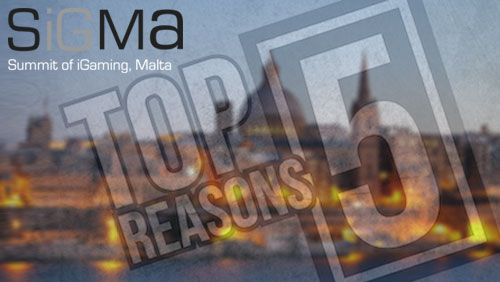 Top 5 Reasons Why You Should Visit Malta for SiGMA 2014