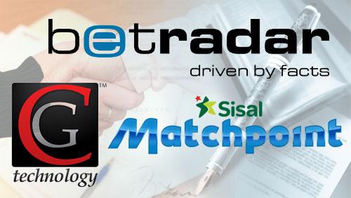 CG Technology, Sisal Matchpoint ink deals with Betradar