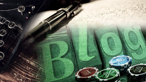 Confessions of a Poker Writer: How to Get Into the Live Tournament Blog